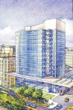 Plans have not been finalized, but Clarion recently released this conceptual rendering of its new bed tower as part of a fundraising campaign.
