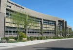 The 100 percent leased, 50,097 square foot Grayhawk Medical Plaza on the campus of Thompson Peak Hospital in northern Scottsdale is one of the MOBs being offered for sale by Scottsdale Healthcare. Photo courtesy of Ensemble Real Estate Services Inc.