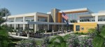 Duke Realty has been selected by the U.S. Department of Veterans Affairs to develop and serve as the general contractor for a new $38 million, 106,000 square foot primary care clinic in northeastern Tampa, Fla. Rendering courtesy of Duke Realty