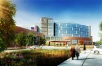Construction is slated to start this summer on the future 126-bed, 362,000 square foot Regional Medical Center replacement hospital in Easton, Md. (Rendering courtesy of Shore Health System)