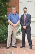 William Transou (left) and Benjamin Bivens recently started a new HRE investment firm, MedSouth Healthcare Properties. Photo courtesy of MedSouth Healthcare Properties