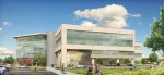 The proposed 18.7-acre oneC1TY campus in Nashville is slated to include medical office buildings like the one shown above. Will the future of HRE include more master-planned healthcare, life science and technology campuses like this one? (Rendering courtesy of oneC1TY, Cambridge Holdings Inc. and ESa Architects)