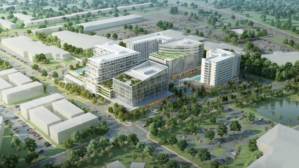 Outpatient Projects Medical To Be Part Of Mixed Use Plan