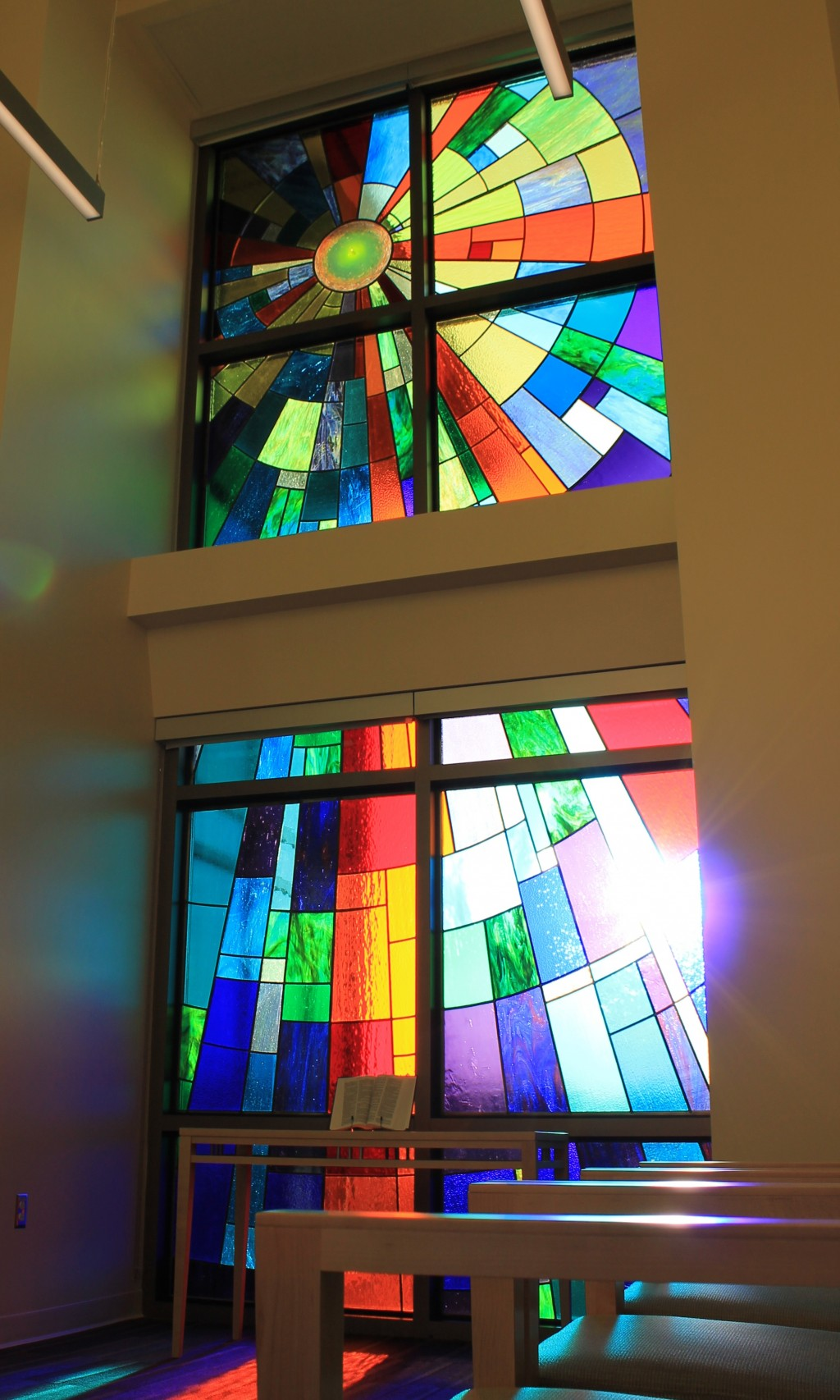 News Release Stained Glass Windows Donated To Hospital