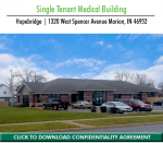 For Sale: SINGLE TENANT MEDICAL | $610,000 | 8.23% CAP│Indiana