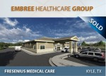 News Release: Closing Announcement- Embree Healthcare Group