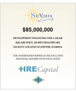 News Release: Healthcare Real Estate Capital secures financing for NuVista Living healthcare facility