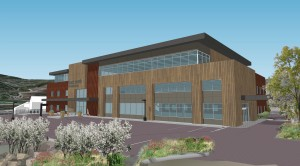 Denver-based NexCore Group has started construction of the three-story, 50,000 square foot Buck Creek Medical Plaza in Avon, Colo., near the Beaver Creek ski resort. The facility will include local and regional providers, including Centura Health. (Rendering courtesy of NexCore Group)