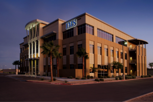 The 61,614 square foot Avondale IMS Medical Building, 10815 W. McDowell Road, in Avondale, Ariz., is one of four MOBs recently acquired by Physicians Realty Trust from Integrated Medical Services in a deal topping $140 million. (Photo courtesy of IMS)