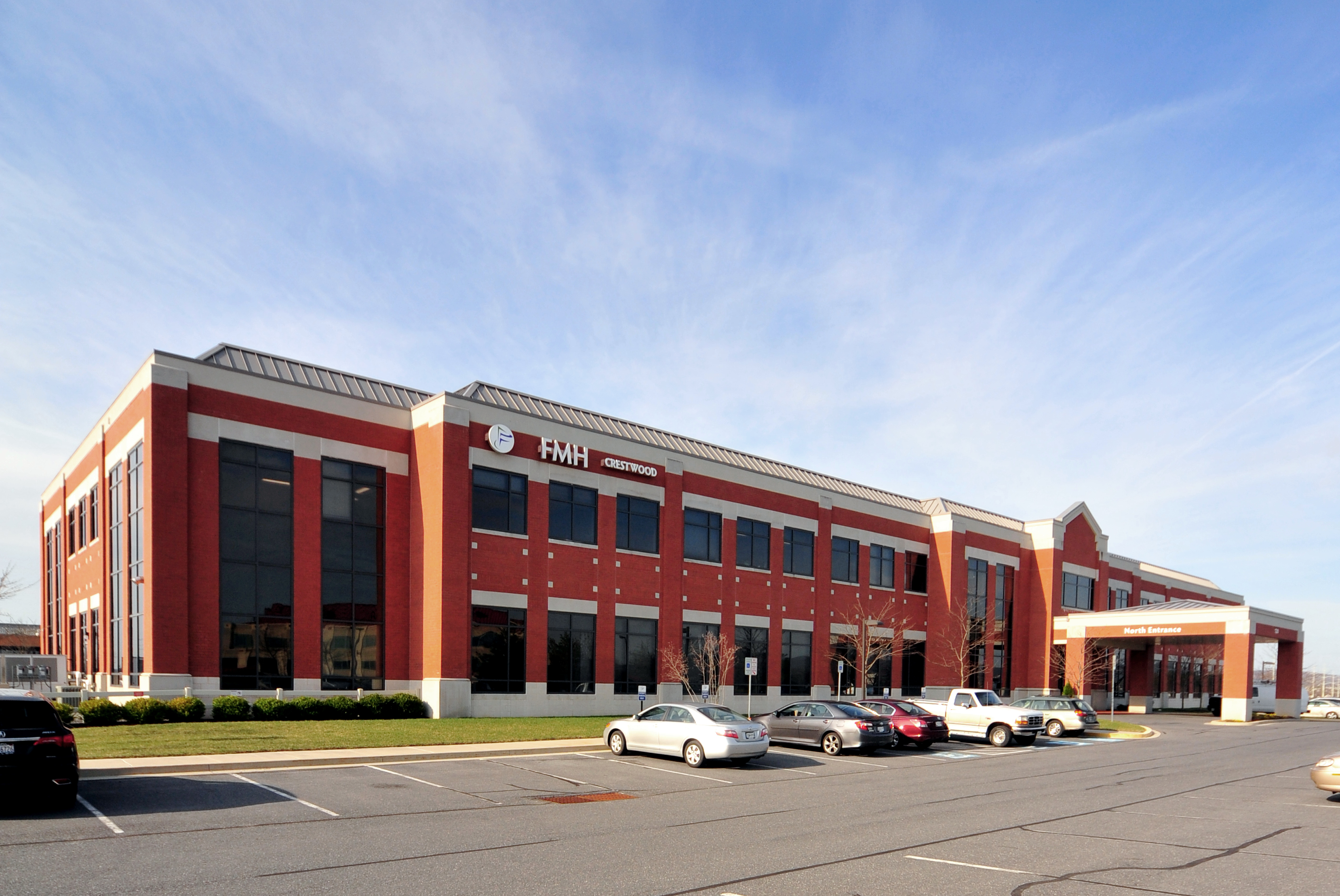 The two-story, 62,297 square foot FMH Crestwood medical office building in Frederick, Md., is 100 percent occupied by the area's dominant hospital, Frederick Memorial. The property is being marketed by JLL's Healthcare Capital Markets team. Photo courtesy of JLL