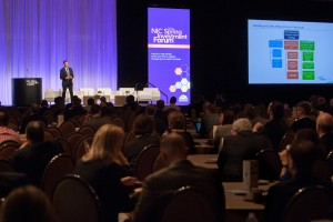The 2016 NIC Spring Investment Forum March 9-11 in Dallas attracted more than 1,500 post-acute and senior living professionals – a new record for attendance.  Photo courtesy of NIC