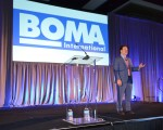 Zachary Karabell, an economist, was one of four keynote speakers at BOMA International's healthcare real estate conference in Orlando, Fla., in May. (HREI photo)