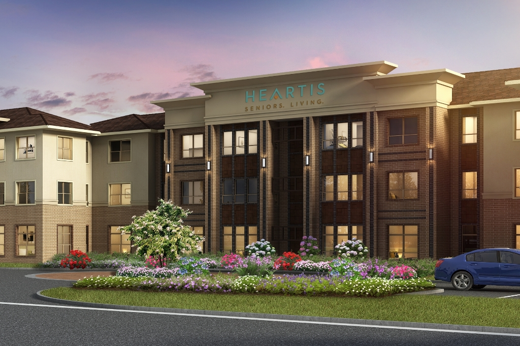 News Release Caddis Breaks Ground On Heartis Midcities A