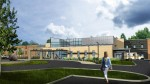 Work is underway on a 197-bed behavioral health hospital in Erlanger, Ky., in the suburbs of Cincinnati. Like in many areas throughout the country, demand is strong in northern Kentucky for such facilities. (Rendering courtesy of St. Elizabeth Healthcare)