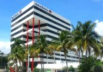 Plans call for the newly acquired, 110,000 square foot Bank of America Centre in West Palm Beach, Fla., to be gradually become an outpatient healthcare campus. Photo courtesy of Commercial Real Estate LLC