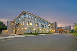 The 72,022 square foot Medical Arts Center at The Hartford HealthCare Cancer Institute in Plainville, Conn., about 15 minutes outside of Hartford, is now owned by Physicians Realty Trust, which paid $30.25 million for the medical office building (MOB). (Photo courtesy of HFF)