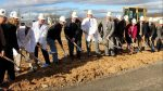 Officials from WVU Medicine University Healthcare Physicians (UHP) and WVU Medicine University Healthcare gathered Jan. 18 with community representatives for a groundbreaking ceremony to celebrate the future site of the Spring Mills Medical Office Building.  (Photo courtesy of WVU Medicine University Healthcare)