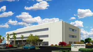 Artist rendering of the Cleveland Clinic Family Health Center in Coral Springs, Fla.  (Rendering courtesy of Rendina)