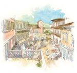 Rendering of Villaggio at San Luis Obispo