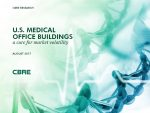 News Release: Aging U.S. population boosting demand for medical office buildings, according to CBRE report