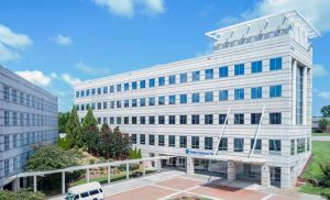 The portfolio includes the 84,622 square foot Duke Medicine Plaza in Raleigh, N.C. (Photo courtesy of JLL)