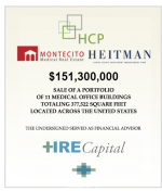 News Release: News from HRE Capital