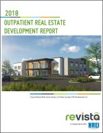Revista and HREI found that outpatient healthcare real estate development projects totaling more than 34 million square feet were started or completed in 2017.