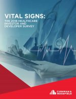 Thought Leaders: Cushman & Wakefield Vital Signs Report on healthcare development/investment