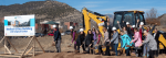 Animas Surgical Hospital staff break ground on the new expansion on November 16, 2018.