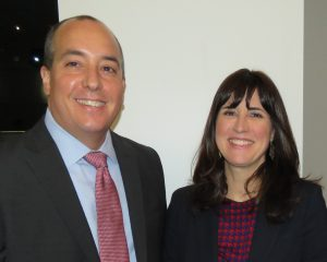 Jim Jacobsen and Lisa Slama of Sg2 (Photo courtesy of BOMA/Suburban Chicago)