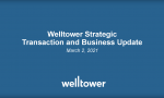 News Release: Welltower Issues Business Update